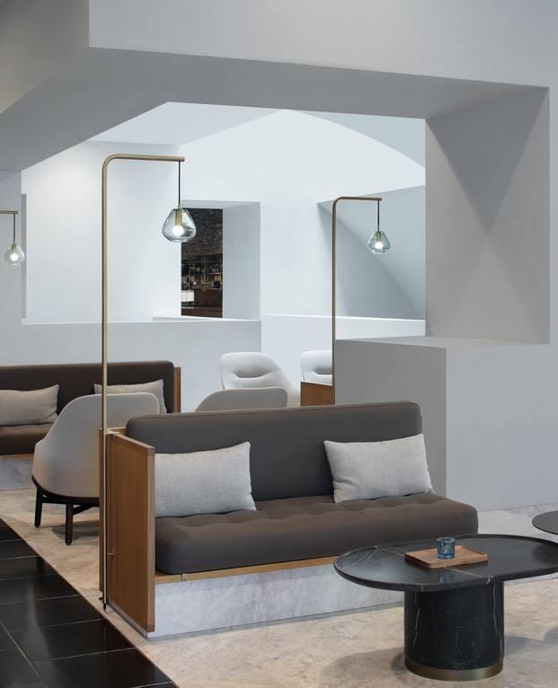 interior lujo discreto de Neri&Hu en centro cultural China