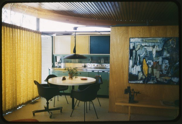 interior miles bates house arquitectura moderna california