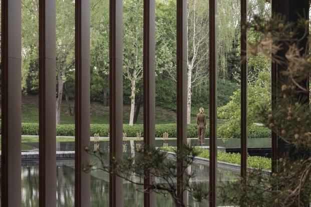 jardín centro cultural en china neri&hu