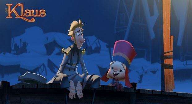 klaus película española de animación