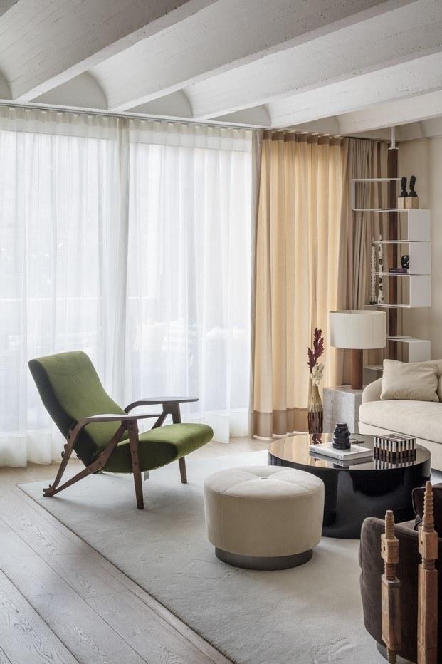 luz natural piso en barcelona oda a sert abag arquitectura