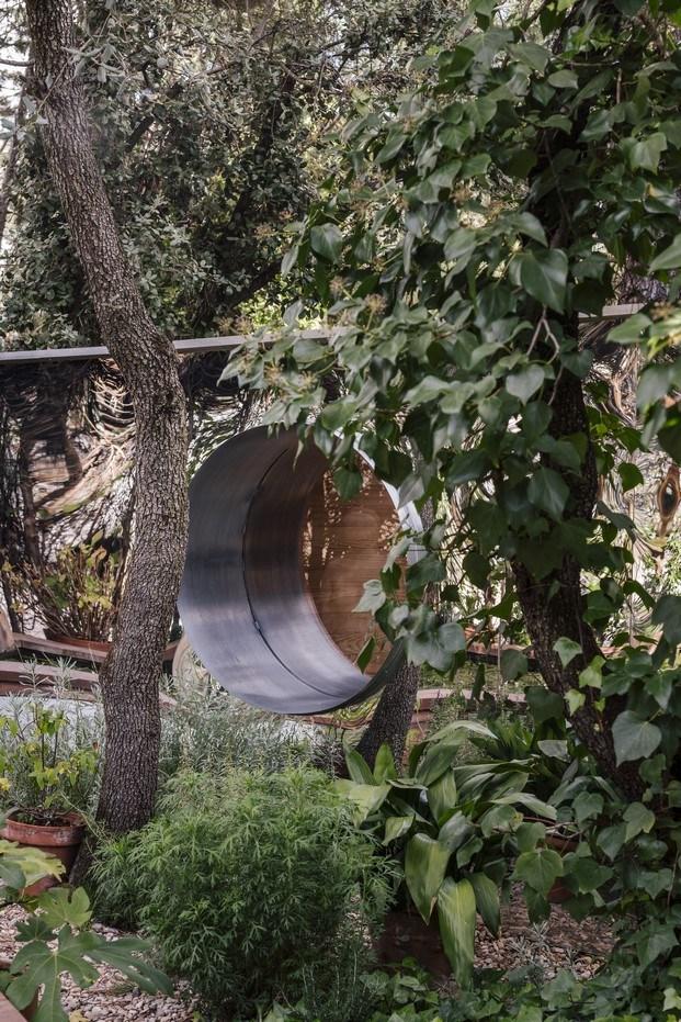 madriguera en medio del bosque estudio de arquitectura de la vega cano lasso
