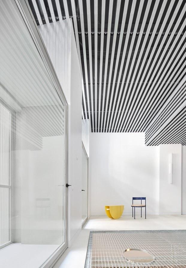 mobiliario de colores vivir entre plantas en Madrid