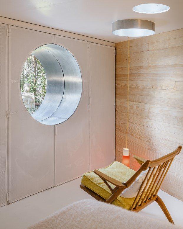 recubrimiento de madera de pino en vivienda la madriguera de la vega cano lasso