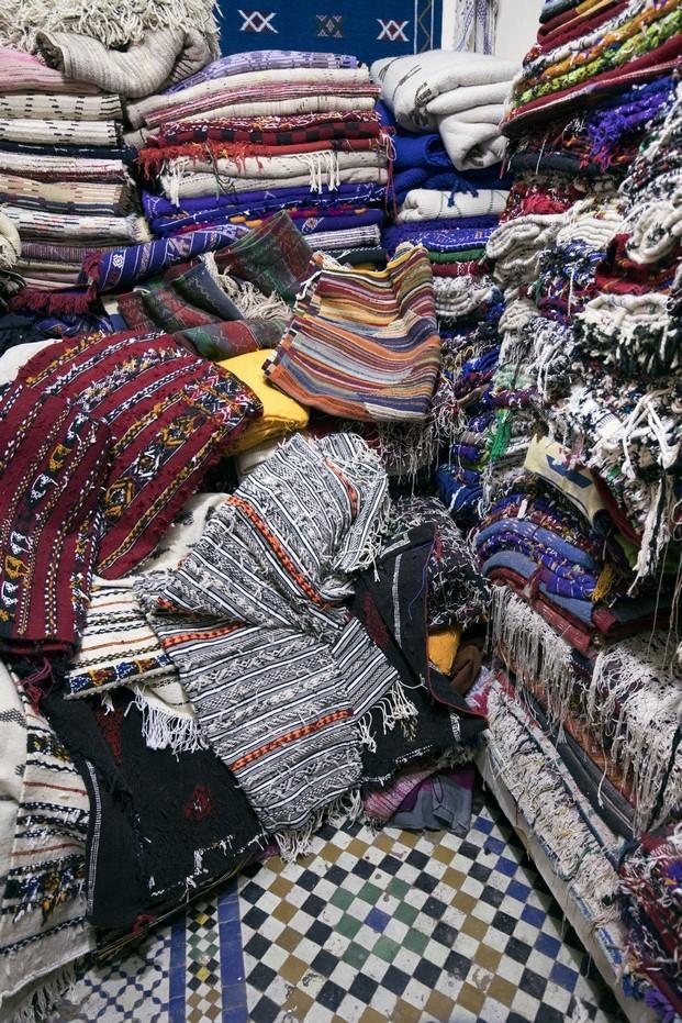 upcycling de ropa por una cooperativa de mujeres en marruecos