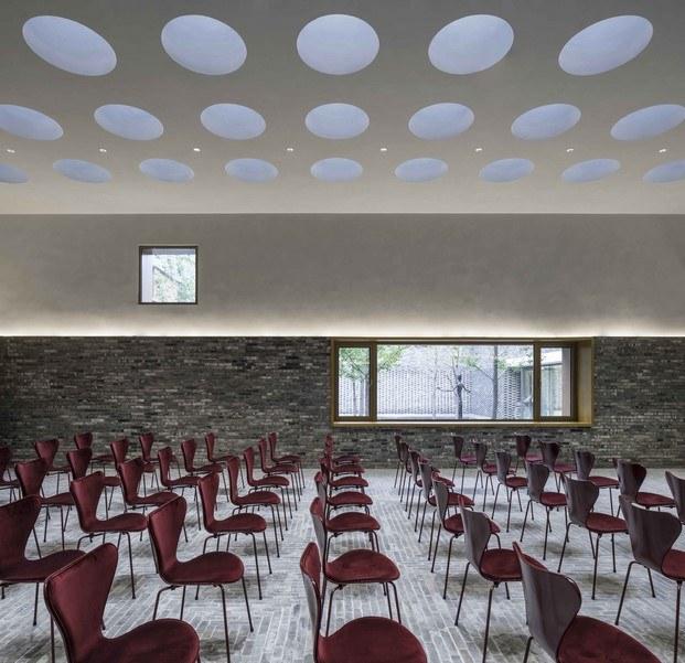 sala de reuniones centro cultural junshan neri & hu
