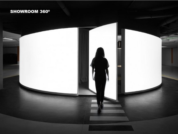 Showroom 360º de boma estudio premio emporia de oro