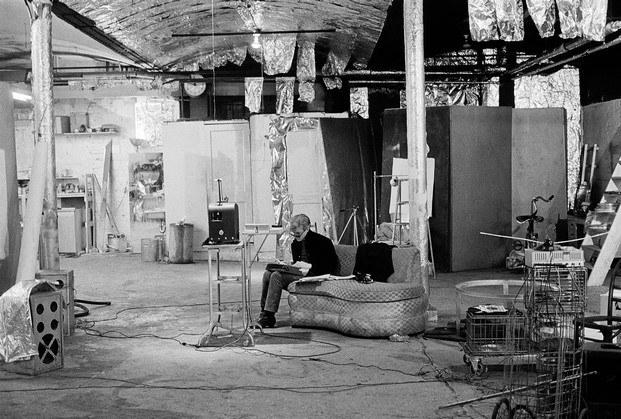 silver factory loft de andy warhol en nueva york