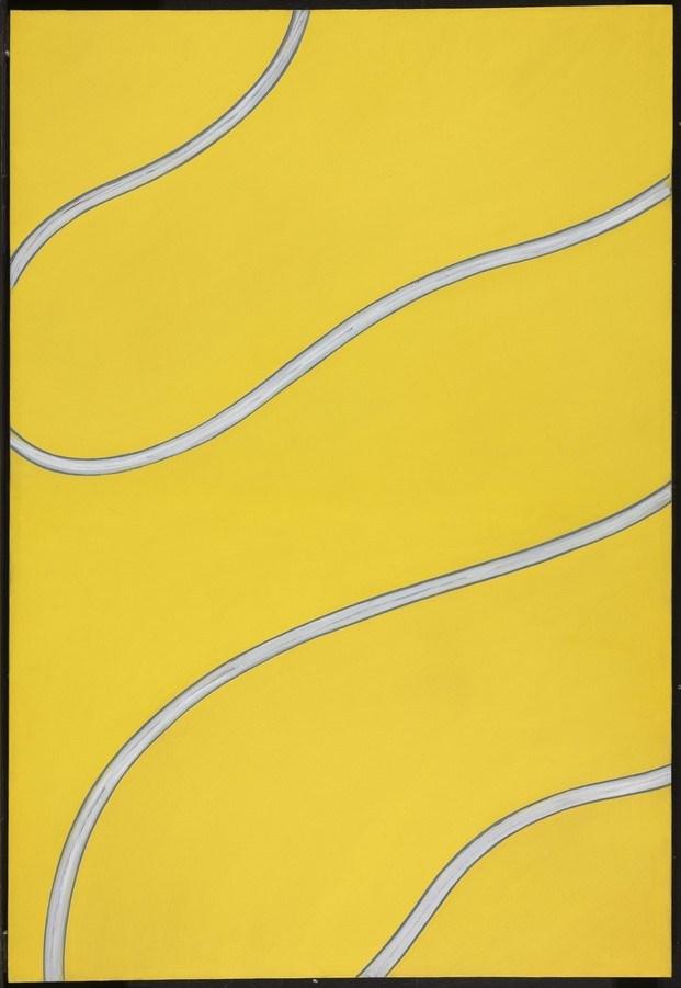 sin título Donald Judd óleo sobre lienzo