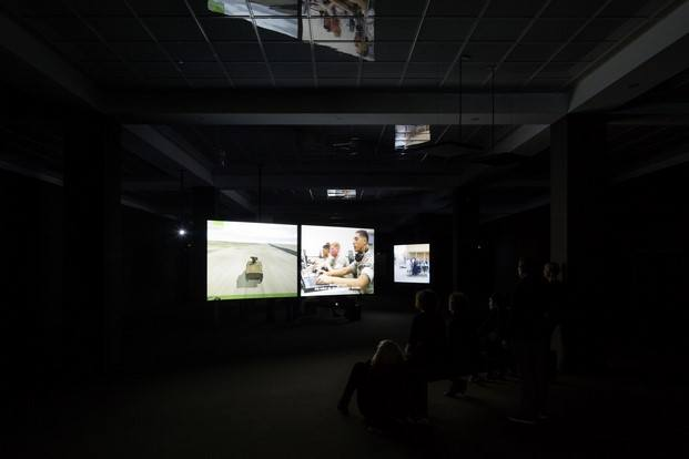 prácticas militares interactivas exposición gameplay cccb