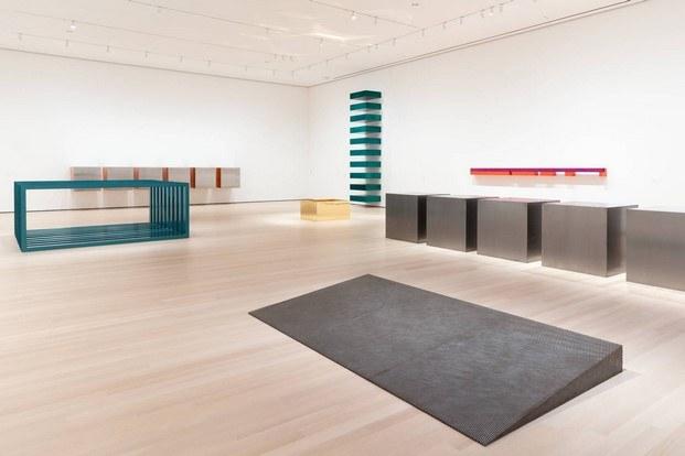 vista de exposición arte en confinamiento desde el moma nueva york