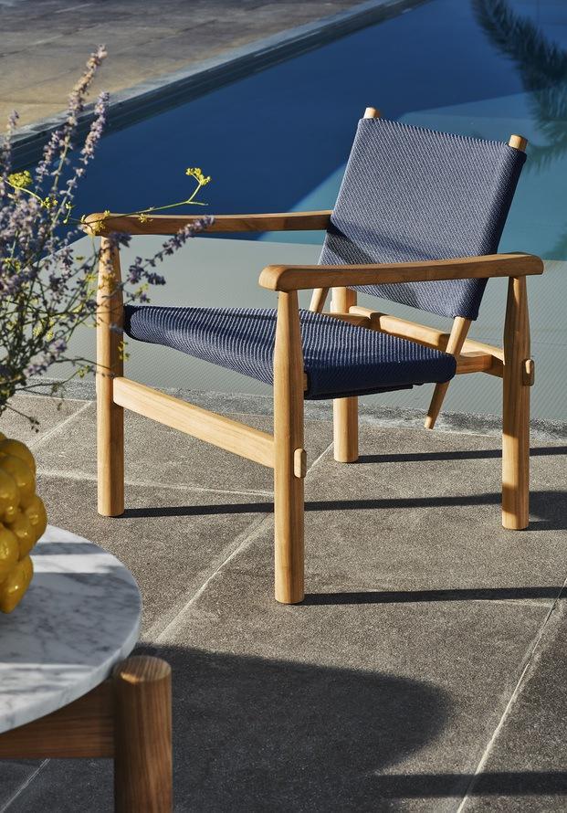 Cassina mobiliario exterior. Charlotte Perriand