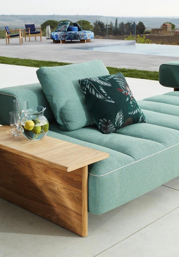 Cassina mobiliario exterior. Rodolfo Dordoni