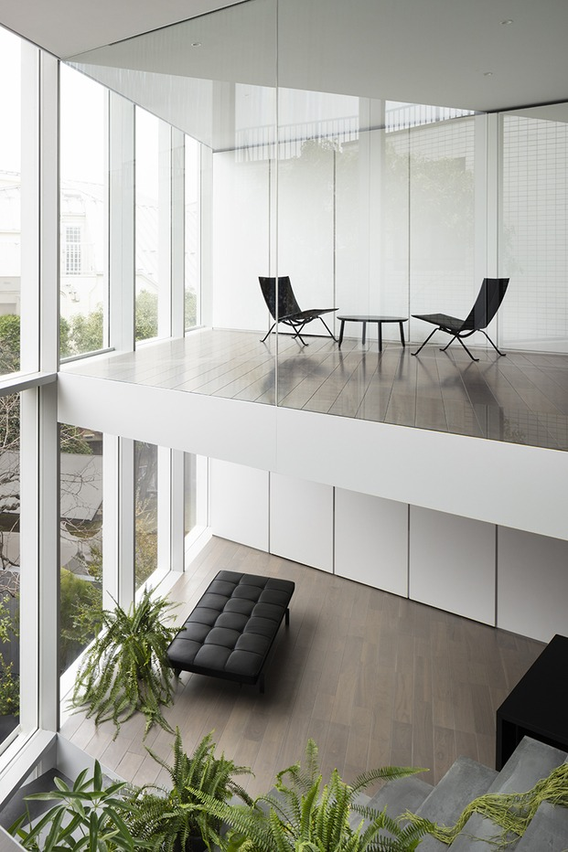 Casa minimalista Japón. Nendo. Interior