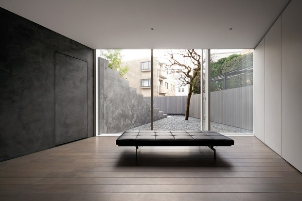 Casa minimalista Japón. Nendo. Chaise longue