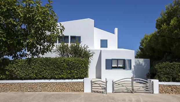 Casa Cala Molí. Menorca. Espacio en Blanco. Fachada.