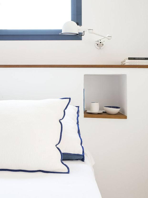 Casa Cala Molí. Menorca. Bárbara Aurell. Detalle habitación