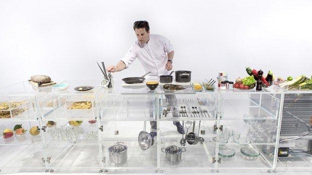 Cocina transparente de MVRDV