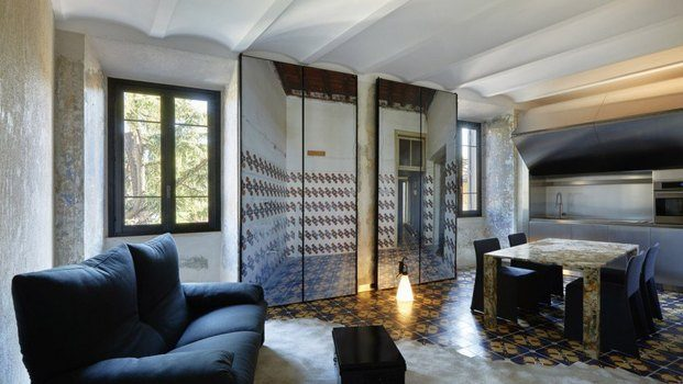 "Cocina Jean Nouvel ""The Rooms of Rome"" para Kike Sarasola."