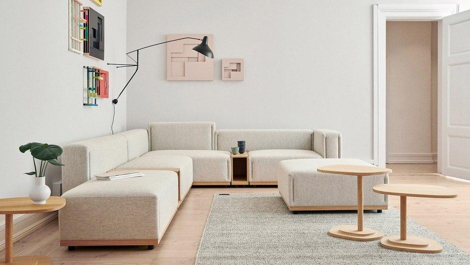 arte y diseño de mobiliario en el showroom de erik jorgensen