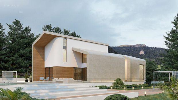 Las casas modulares de Yonoh y Fran Silvestre para inHAUS BY