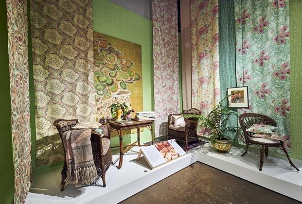 inspiración floral clásica designers guild exposición fashion and textile museum londres