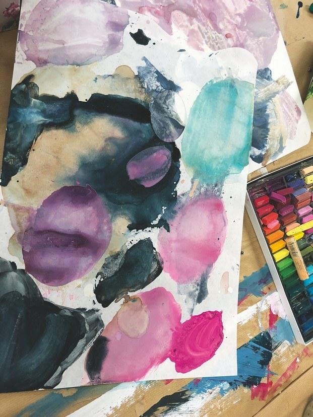 estudio de tricia inspiración color interiorismo