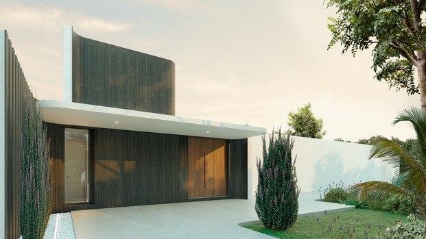 exterior casa diseño de mario ruiz