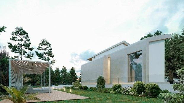 exterior casa modular de diseño yonoh