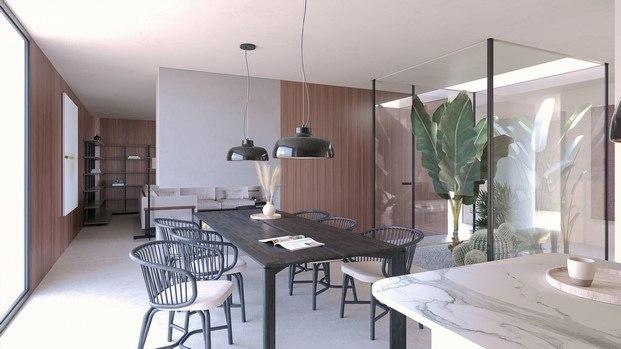 interior diseño de mario ruiz para inhaus