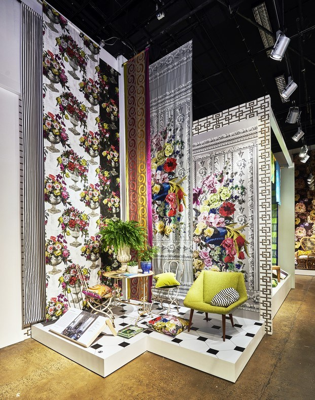 papeles pintados y muebles tapizados designers guild
