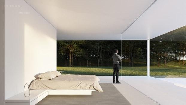 pórtico interior diseño fran silvestre arquitectos inhaus by