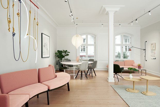 showroom mobiliario diseño en copenhague