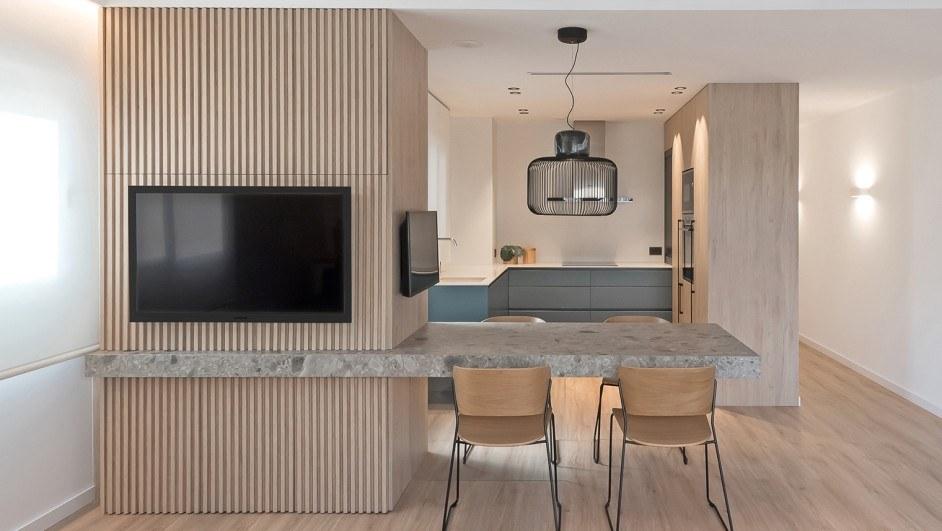 Apartamento de madera en Alicante