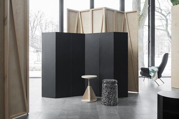 Paneles de madera en zig-zag. HEM. Estilo escandinavo