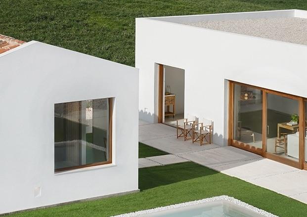 Marina Senabre Estudio. Arquitectura. Casas de vacaciones en Menorca.