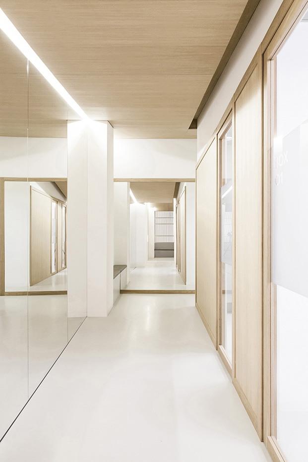 Clínica Dental Carbonell. Paiporta, Valencia. Interiorismo de Made Studio. Iluminación