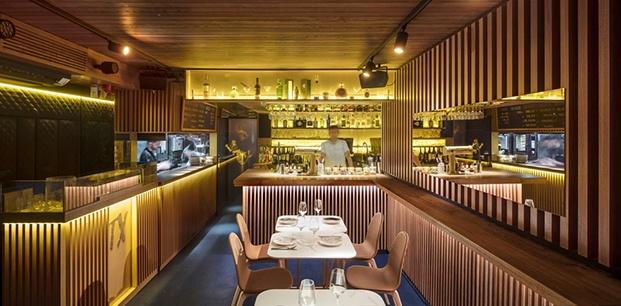 Restaurante Txalupa Gastroleku, de El Equipo Creativo. Interior