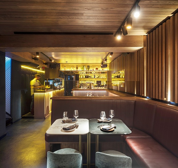 Restaurante Txalupa Gastroleku, de El Equipo Creativo. Club