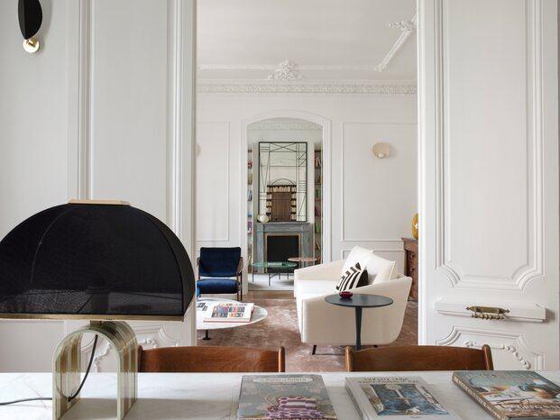 Estudio Morgan. Proyecto Almagro. Interiorismo Madrid. Casa moderna