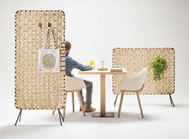 Biombos y paneles acústicos para oficinas y espacios públicos