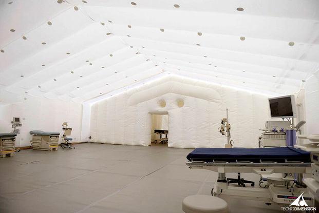 Hospital de campaña hinchable de Tecnhodimensión
