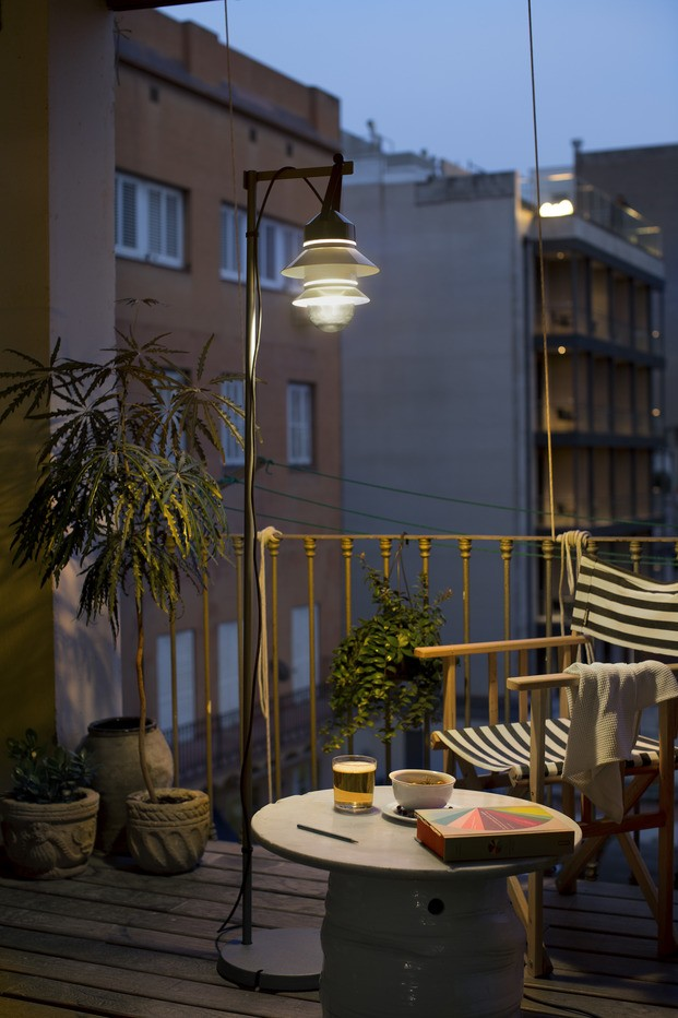 Iluminación para el balcón