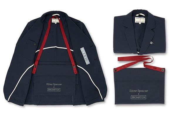 Colección de ropa oliver Spencer x Brompton