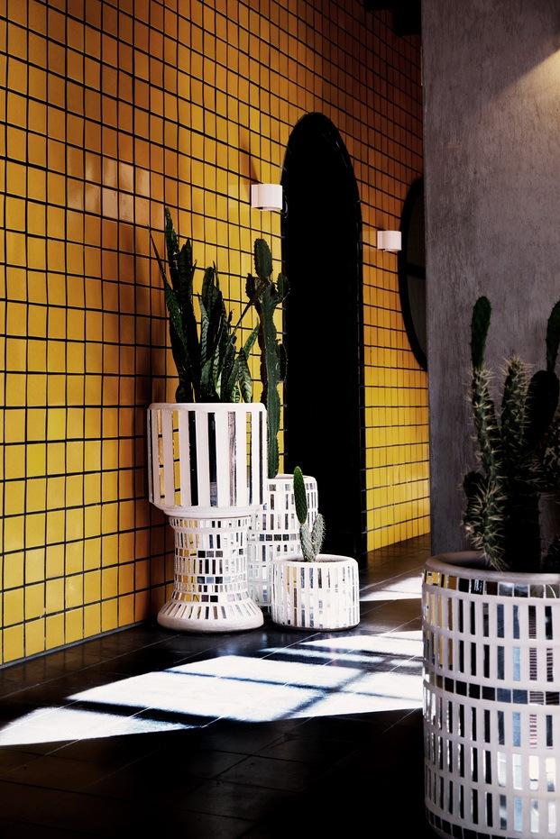 Hotel Boutique Casa Hoyos. México. Amarillo