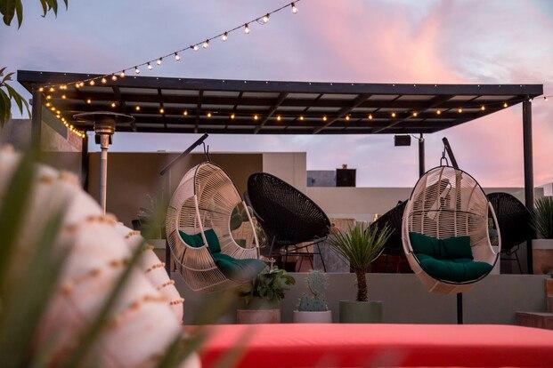 Hotel Boutique Casa Hoyos. México. Terraza