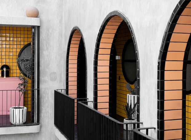 Hotel Boutique Casa Hoyos. México. Arcos