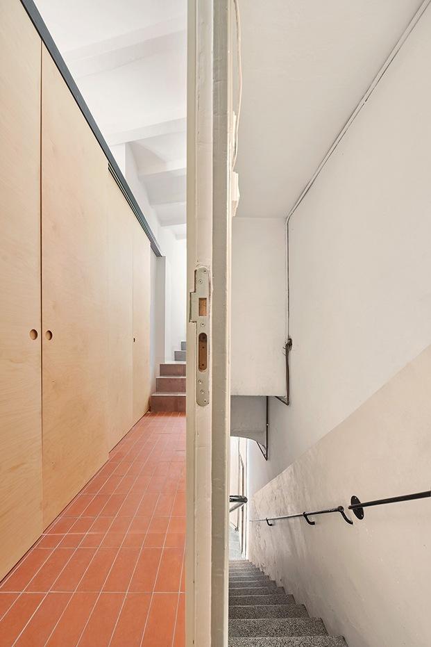 El espacio se ha rentabilizado al máximo, multiplicando la escasez de metros en el proyecto de la casa Akari