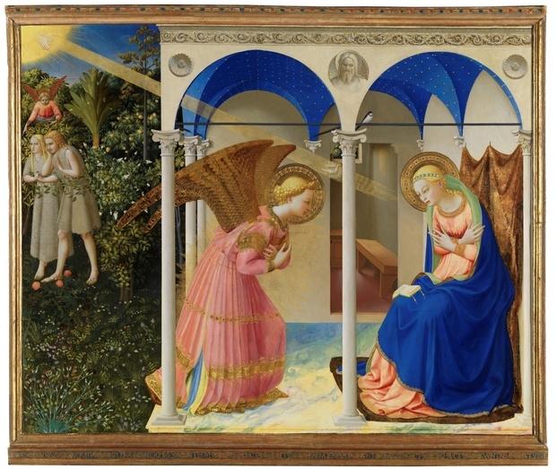 Fra Angelico. La Anunciación. C.1426