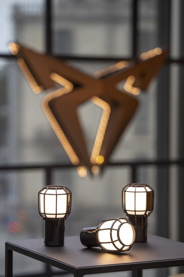 Lámpara Chispa, de Joan Gaspart para Marset  & Cupra